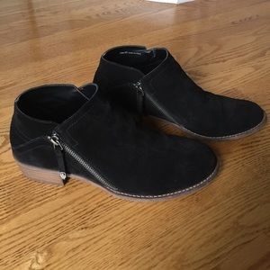 Dolce Vita suede booties.